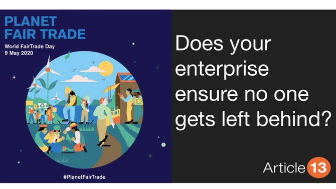 SOCIAL THRESHOLD #4 INCOME AND WORK:  DOES YOUR ENTERPRISE ENSURE NO ONE GETS LEFT BEHIND?