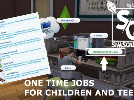 One Time Jobs for Children and Teens