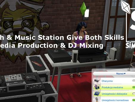 DJ Booth and Music Station give both skills