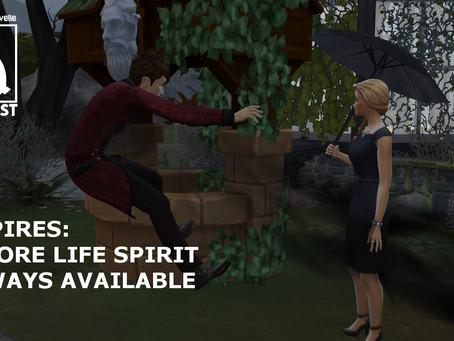 Vampires: Restore Life Spirit Always Available