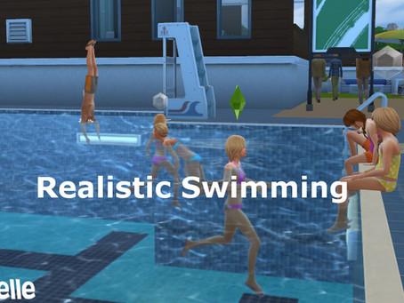 Realistic Swimming