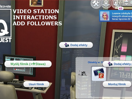 Video Station Interactions Add Followers