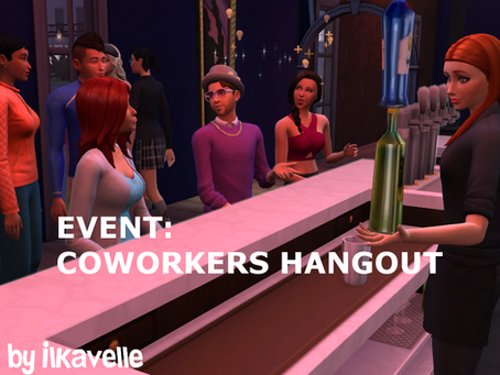 Coworkers Hangout Event