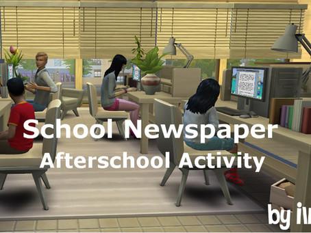 School Newspaper - Afterschool activity