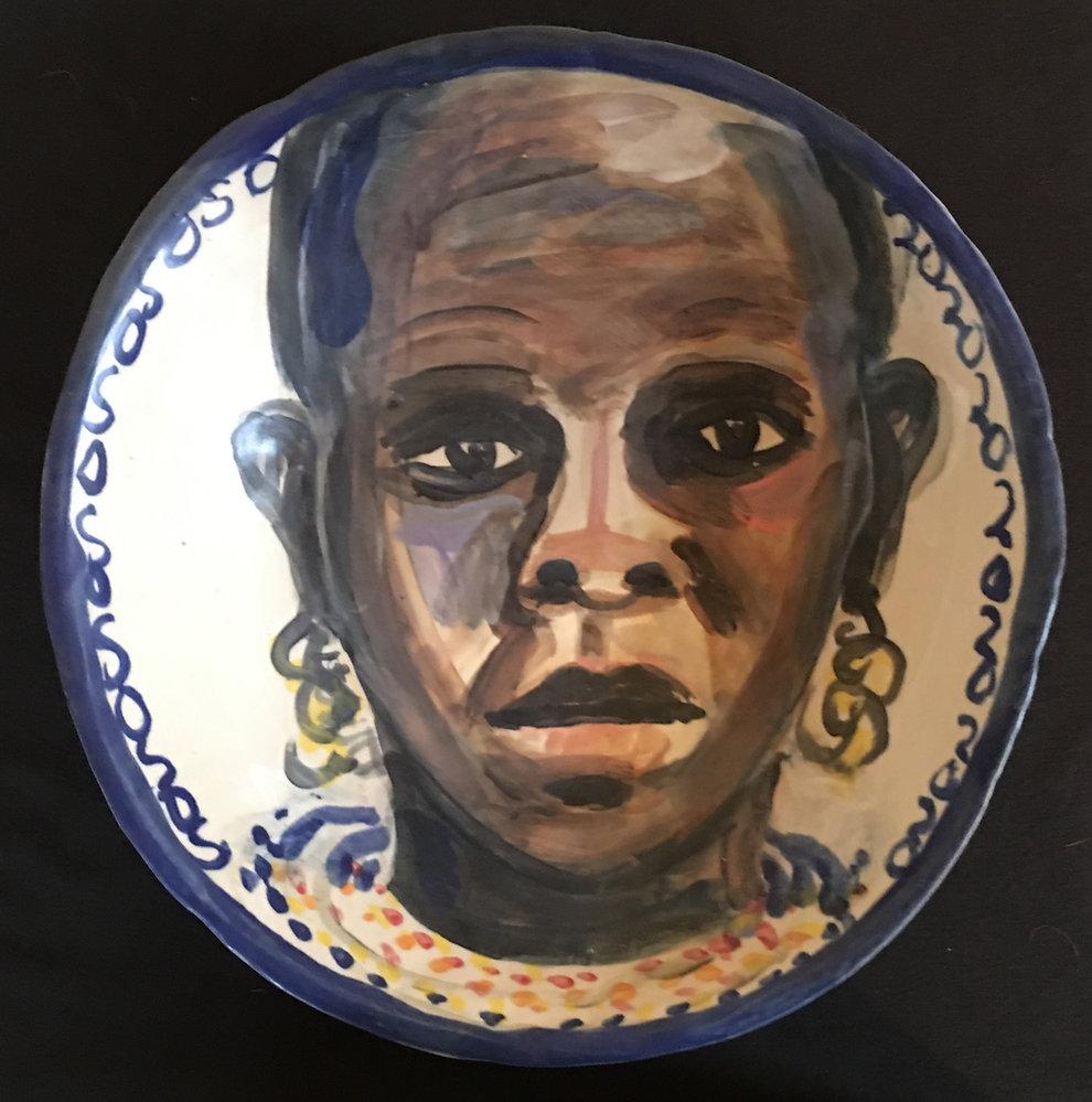 African Woman 10%22.JPG
