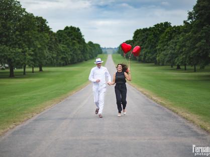 Pre-wedding em Windsor