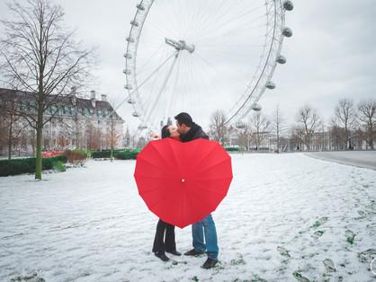 Neve em Londres