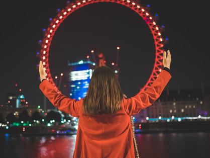 Ensaio noturno em Londres