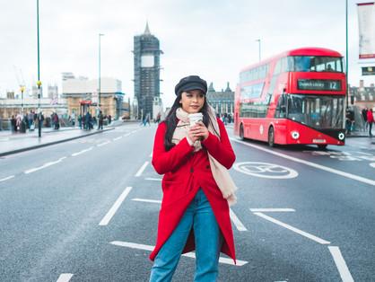 Inspirações de roupas para ensaios fotográficos em Londres