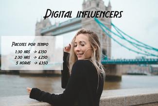 Ensaio fotografico para digital influencers