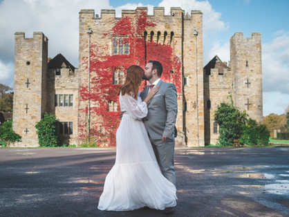 Hever Castle pre-wedding