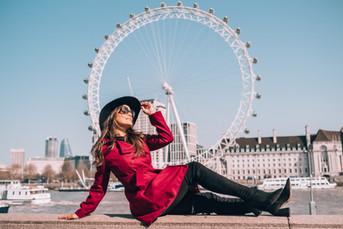 Ensaio fotografico em Londres