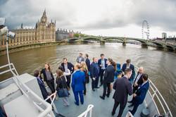Corporate boat event