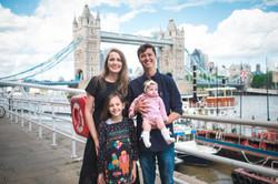 Ensaio de familia em Londres