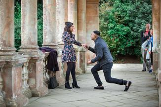 Proposta de casamento surpresa
