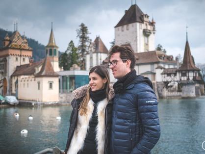 Trip/ensaios na Suíça