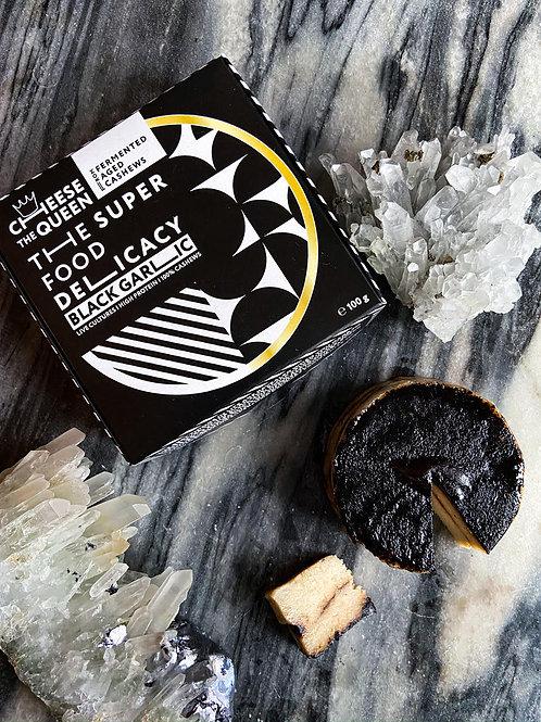 Био зрял деликатес от ферментирали ядки кашу с черен чесън 100 г