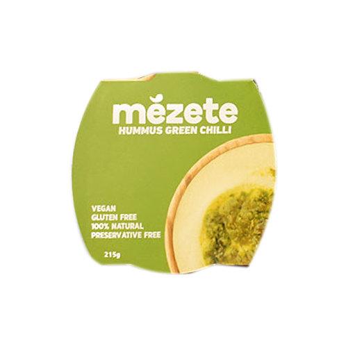 Истинския хумус Mezete със зелени люти чушлета 215 г