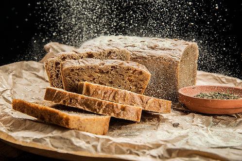 Домашен хляб от лимец  с жива закваска 450 г