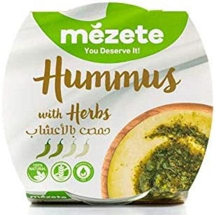 Истинския хумус Mezete с билки 215 г