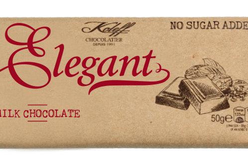 Elegant  Млечен шоколад без добавена захар 50г