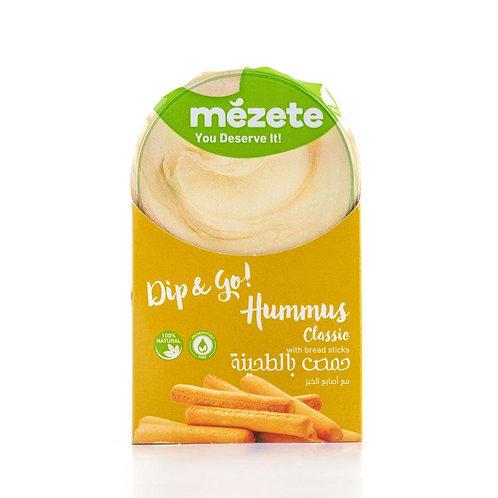 Истинския хумус Mezete Dips & Go! - Classic 92г