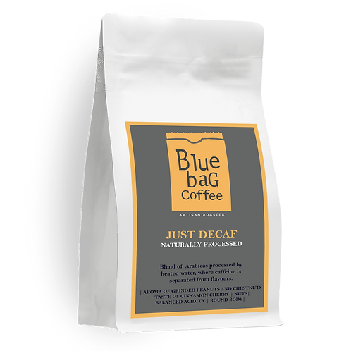 BLUE BAG Just Decaf – Naturally Processed 200Г.
