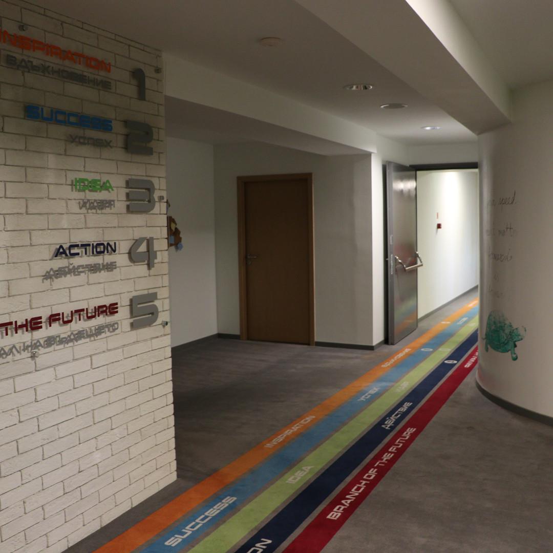 Ремонт и реконструкция на 6-ти етаж на сградата на Централно управление на УниКредит Булбанк