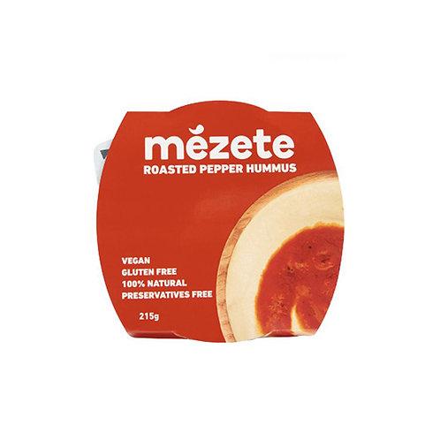 Истинския хумус Mezete с печни чушки 215 г