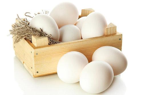 Фермерски яйца отпасищно отглеждани кокошки 10 бр.