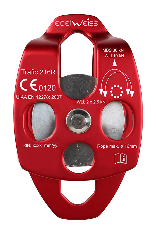 EDELWEISS - TRAFIC 216R Double Pulley