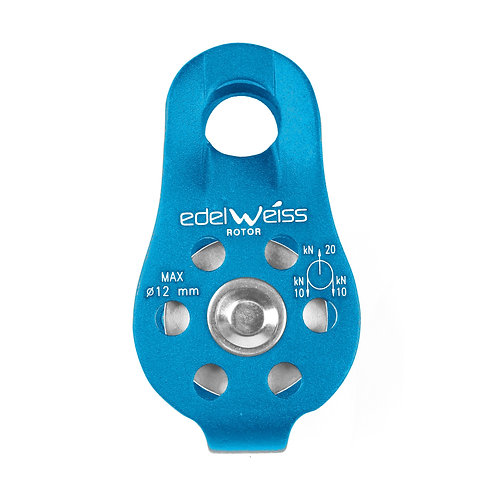 EDELWEISS - ROTOR Pulley Black