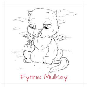 Fynne's geboortekaartje -recto