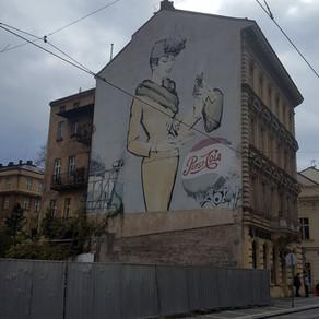unguided tour (Jindřišská street mural)