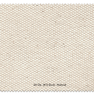 Numbered Duck Cloth