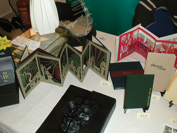 16 SELECTION OF BOOK ART, ICA LONDON ART