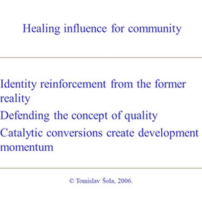 Healing Influence for Community