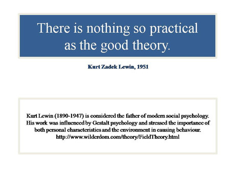 Why is Theory Practical?