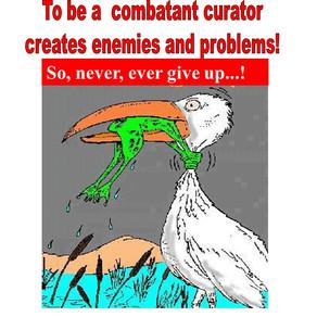 Combatant curator