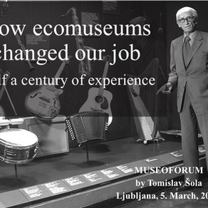 How Ecomuseums have changed our Job
