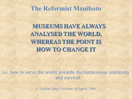 The Reformist Manifesto