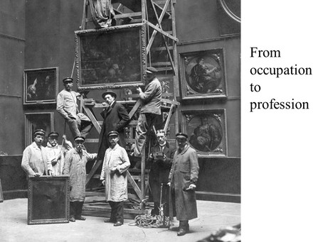 From Occupation(s) to a Heritage Profession