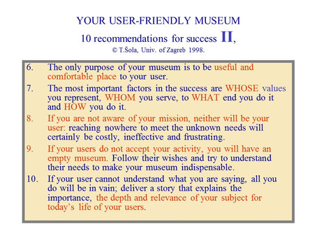 Your User Friendly Museum, No. 2