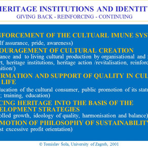 Heritage Institutions and Identity