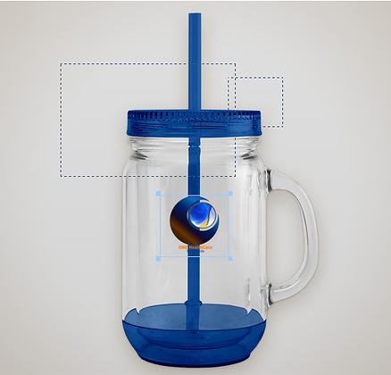 ONE Mason Beverage Jar