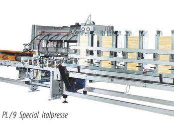 Производство столярного щита c Italpresse
