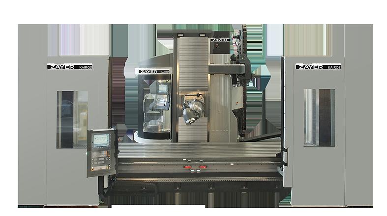 Фрезерный станок с ЧПУ или горизонтальный и вертикальный обрабатывающий центр с подвижной стойкой, неподвижным независимым столом и/или поворотным столом