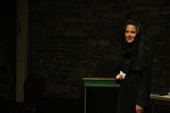 ROLE: Henrietta Iscariot  PRODUCTION: The Last Days of Judas Iscariot*  LOCATION: Unit 102 Theatre/Toronto  *Winner - Best Indie Production - My Entertainment World