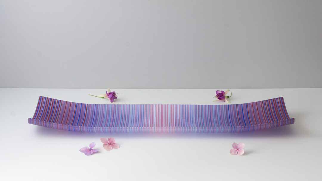 ColourWave Glass – Purple Shimmer (L) –
