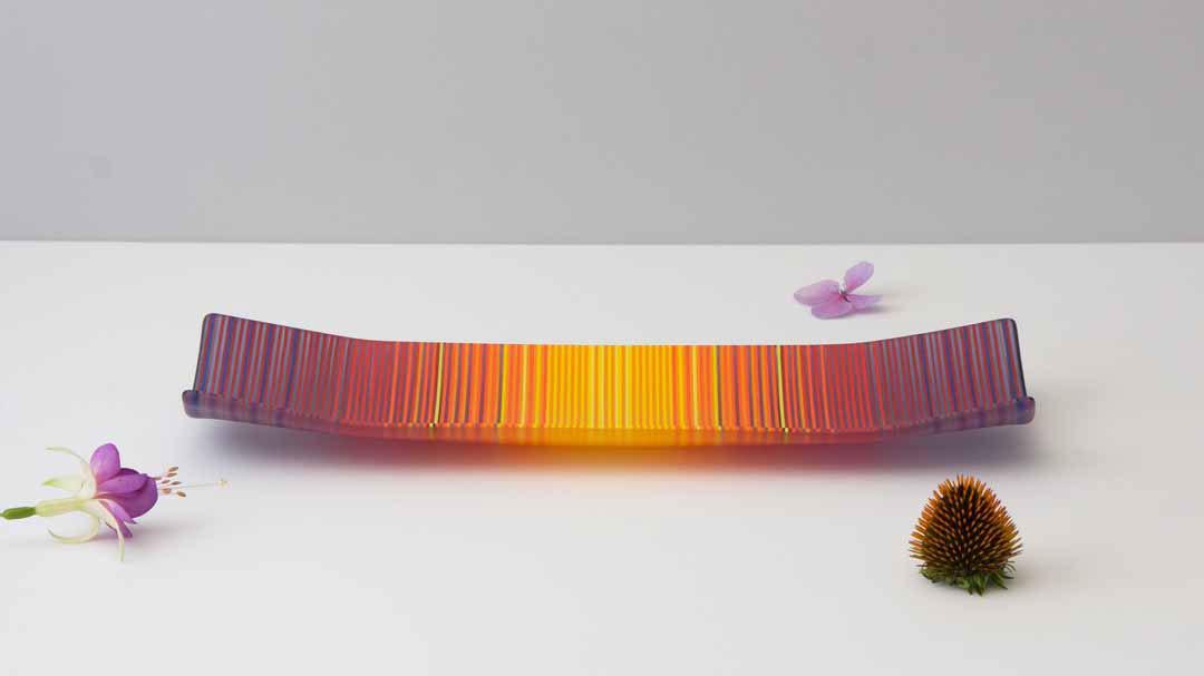 ColourWave Glass – Sunset Haze II – LS.j